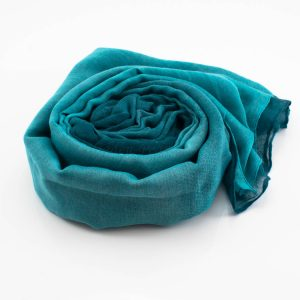 Ombre Hijab Sea Green & Teal - Hidden Pearls