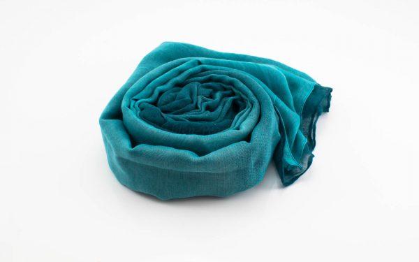 Ombre Hijab Sea Green & Teal - Hidden Pearls