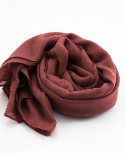 Plain Hijabs Rust 2