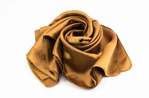 Silk Hijab - Bronze - Hidden Pearls