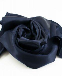 Silk Hijab - Midnight Blue - Hidden Pearls