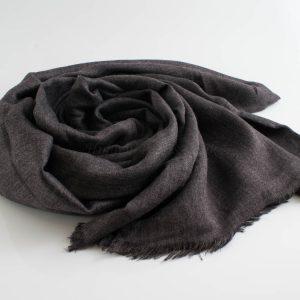 Deluxe Plain Hijabs - Hidden Pearls - Dark Grey