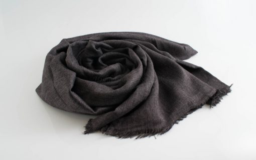 Maxi Plain Hijabs - Hidden Pearls - Dark Grey