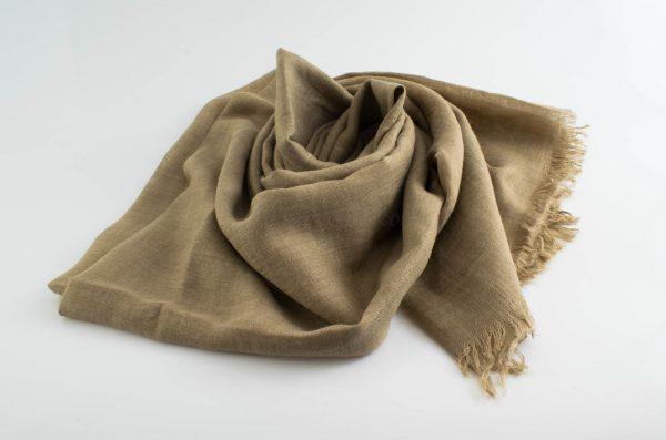 Deluxe Plain Hijabs - Hidden Pearls - Camel
