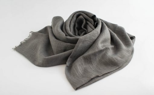 Maxi Plain Hijabs - Hidden Pearls - Light Grey