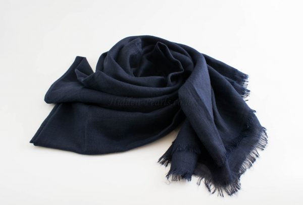 Maxi Plain Hijabs - Hidden Pearls - Midnight BlueDeluxe Plain Hijabs - Hidden Pearls - Navy Blue