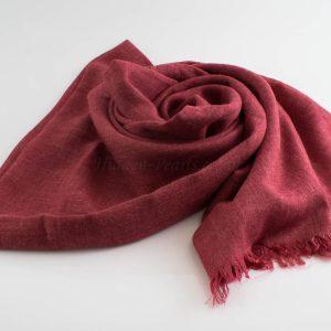 Deluxe Plain Hijabs - Hidden Pearls - Rosewood