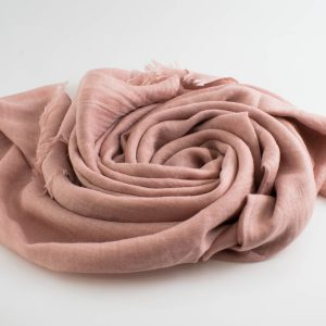 Deluxe Plain Hijabs - Hidden Pearls - Soft Pink