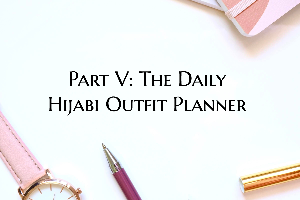 Hijab Outfit Planner