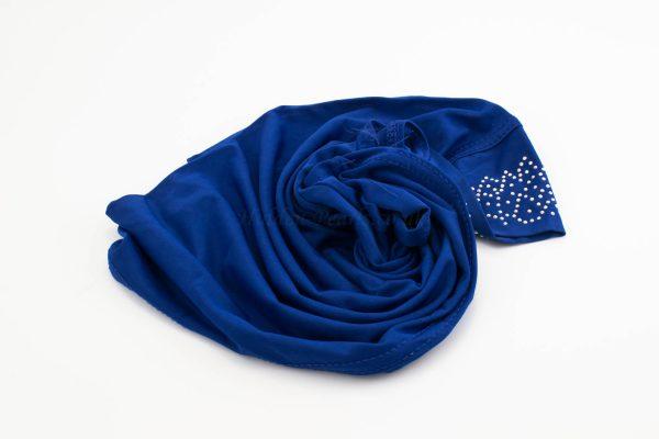 Children's Gem Hijab - Royal Blue - Hidden Pearls