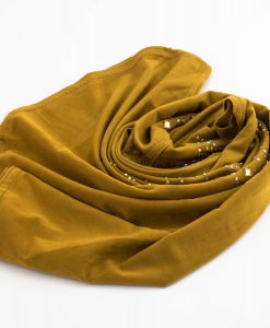 Children's Gem Hijab - Tan Brown - Hidden Pearls