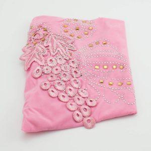 Children's Gem and Flower Patch - Baby Pink - Hidden Pearls