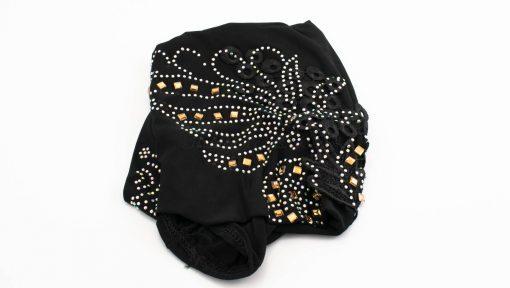 Children's Gem and Flower Patch - Black - Hidden Pearls