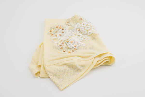 Children's Gem and Flower Patch - Maroon - Hidden Pearls