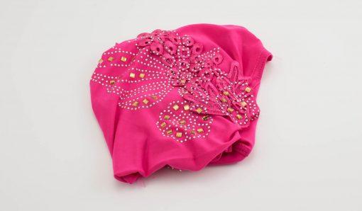 Children's Gem and Flower Patch - Shocking Pink - Hidden Pearls