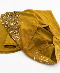 Children's Gem and Flower Patch - Tan Brown - Hidden Pearls