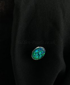Sparkle Magnetic Hijab Pin - Turquoise - Hidden Pearls