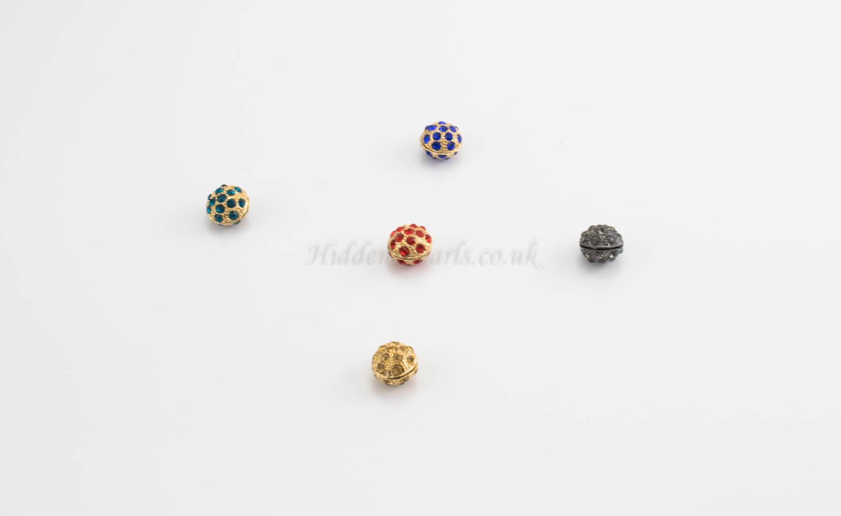 Glitter & Gem Magnetic Hijab Pin