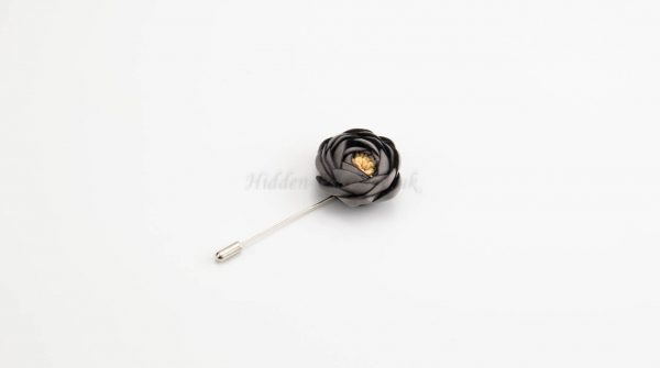 Rose Hijab Pins - Grey - Hidden Pearls