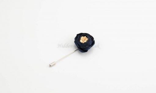Rose Hijab Pins - Midnight Blue - Hidden Pearls