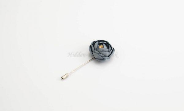 Rose Hijab Pins - Blue - Hidden Pearls