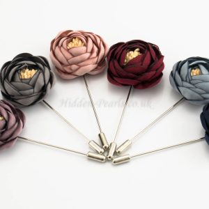 Rose Hijab Pins - Hidden Pearls
