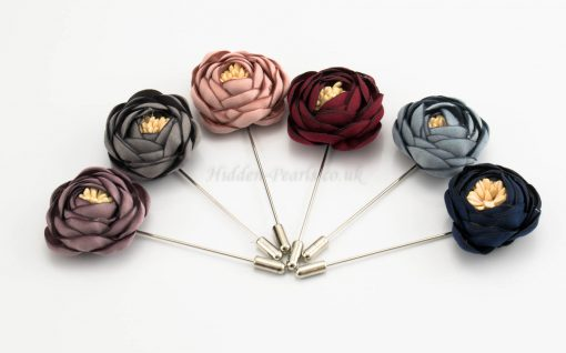 Rose Hijab Pins - Hidden Pearls