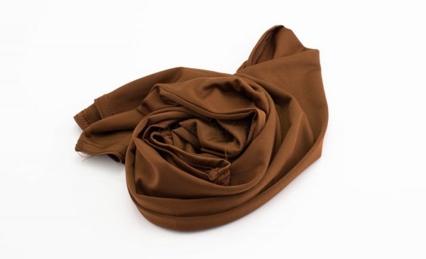 Lycra Plain Children Hijab - Brown - Hidden Pearls