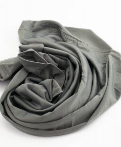 Lycra Plain Children Hijab - Grey - Hidden Pearls