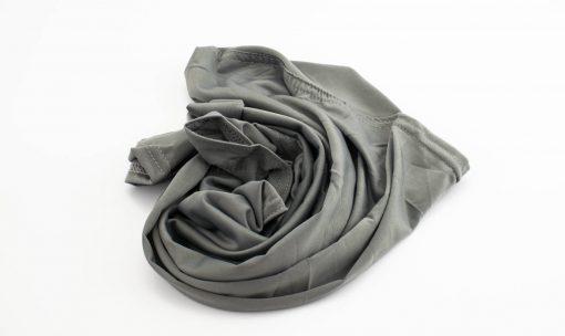 Lycra Plain Children Hijab - Grey - Hidden Pearls
