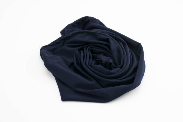 Lycra Plain Children Hijab - Midnight Blue - Hidden Pearls