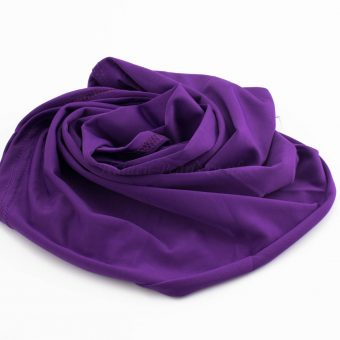 Lycra Plain Children Hijab - Purple - Hidden Pearls