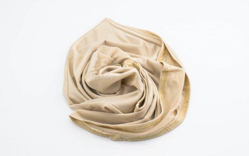 Lycra Plain Children Hijab - Skin - Hidden Pearls