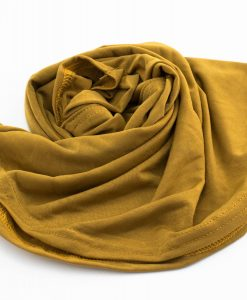 Lycra Plain Children Hijab - Tan Brown - Hidden Pearls