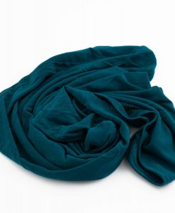 Lycra Plain Children Hijab - Teal - Hidden Pearls