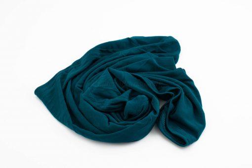 Lycra Plain Children Hijab - Teal - Hidden Pearls