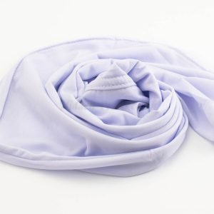 Lycra Plain Children Hijab - White - Hidden Pearls