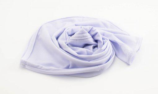 Lycra Plain Children Hijab - White - Hidden Pearls