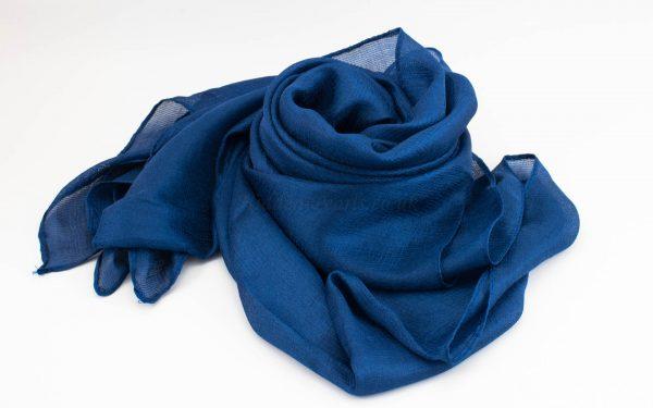 Shimmer Silk Hijab - Sapphire 2 - Hidden Pearls.NEF