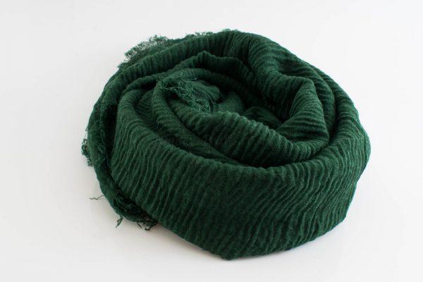 Crimp Hijab - Green (lighten it) - Hidden Pearls