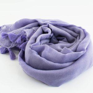 Tassel hijab lavender