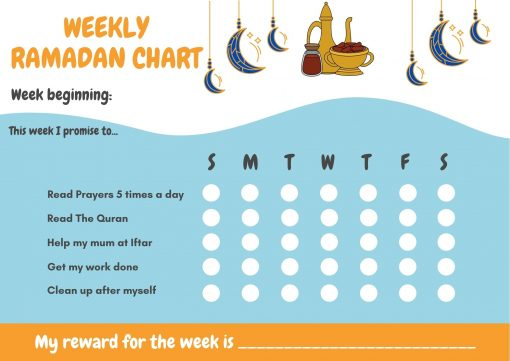 Ramadan gift Box - Boys Ramadan Calendar - Hidden Pearls2
