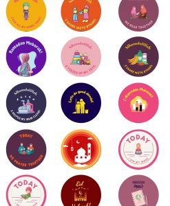 Ramadan gift Box - Stickers - Hidden Pearls2