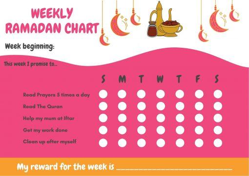 Ramadan gift Box - Girls Ramadan Calendar - Hidden Pearls2