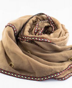 Aztec Ring Hijab Coffee