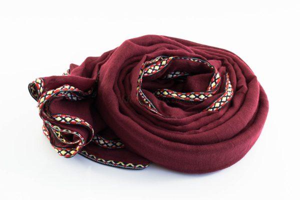 Aztec Ring Hijab Rosewood