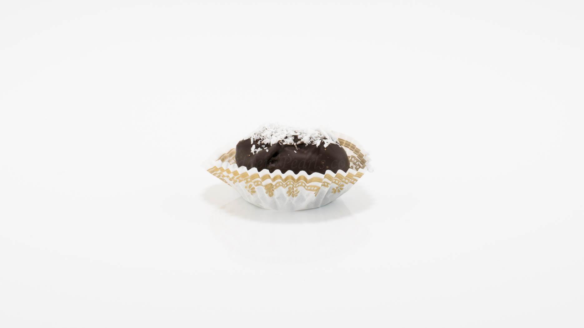 Coconut Dark Chocolate Date