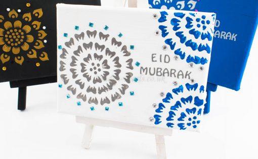 eid mubarak canvas