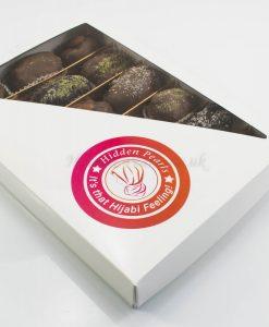 Chocolate Dates with Pistachio