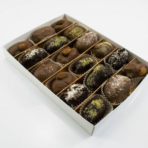 Chocolate Dates with Almond